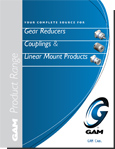 GAM Product Line Brochure