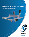 GAM Drive Solutions for Cartesian Robots Brochure