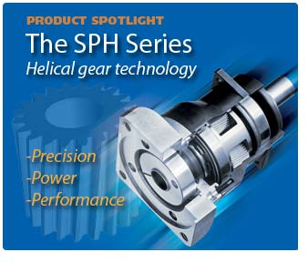 SPH Helical Gearbox Featured Product