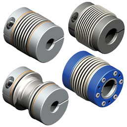Bellows Couplings for Servo Applications