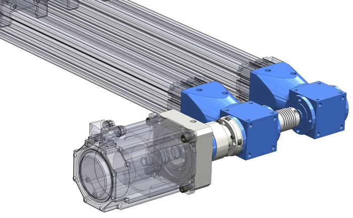 Application Story Gearbox And Coupling For Actuator Gam