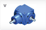 Precision Gear Reducers, Inline Gearboxes, Right Angle Gearboxes, V Series