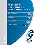 GAM Product Brochure: Gearboxes | Gear Reducers | Couplings