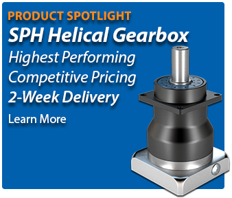 SPH Helical Gearbox with 2-week delivery