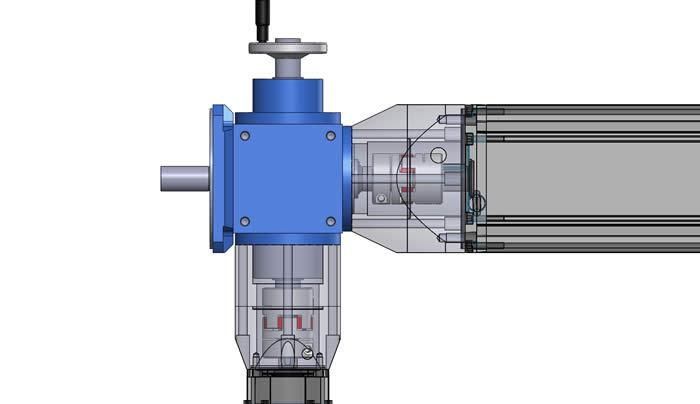 Application Story: Spiral Gearbox V | Elastomer Couplings | Adapter Plates | Valve Actuator System