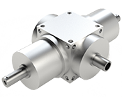 VP Series Bevel Gearbox with Dual Input/Hollow Output Shaft